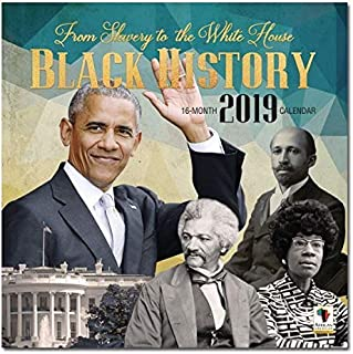 African American Expressions - 2019 Black History 12 Month Calendar (12