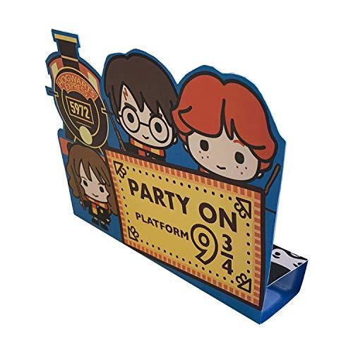 amscan 9905199 - Partyeinladungen mit animierten Harry Potter Motiven, 8 Stück