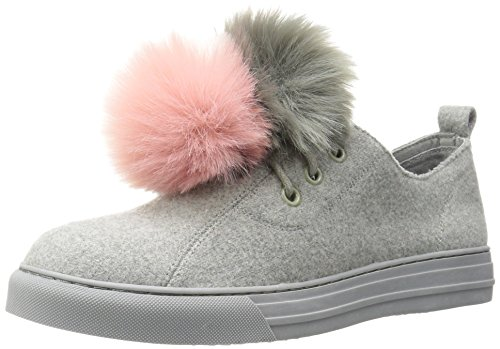 Dirty Laundry by Chinese Laundry Women's Fluffed Up Fashion Sneaker, Grey Flannel, 11 M US