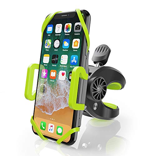 ZeaLife Fahrrad Handyhalterung Verstellbare Sport Handyhalterung Fahrrad mit 360° Drehen, Outdoor Anti-Shake Universal Motorrad Fahrrad Handyhalter für iPhone Samsung und 4-6,5 Zoll Smartphones