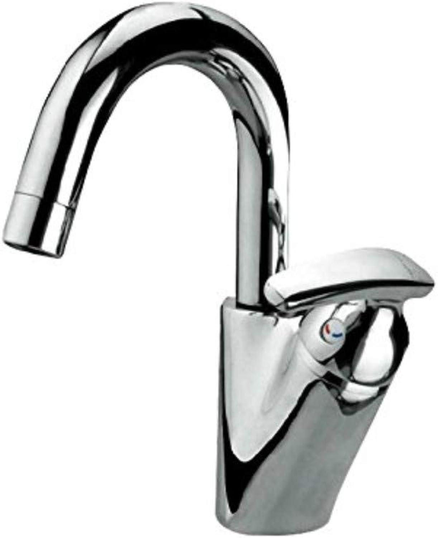 360 ° drehbarer Wasserhahn Retro Wasserhahn warmes und kaltes Becken Wasserhahn Einlochbühne Becken