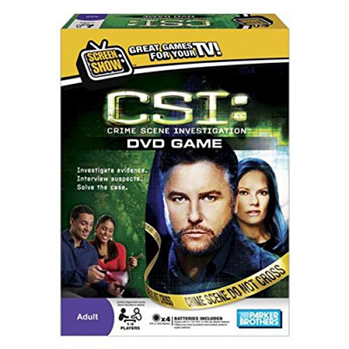Parker Brothers CSI DVD Game