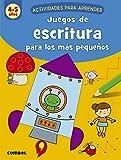 Juegos De escritura para Los Más Pequeños (4-5 años) (Actividades para aprender)