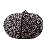 <span class='highlight'><span class='highlight'>ALASON</span></span> Stuffed Animals Bean Bag Extra Large Chair Cover -100% Cotton Canvas Kids Toy Storage Zipper Bags Organizer Comfy Pouf for Boys Girls Toddler,10,18inch