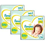 Kit Fraldas Pampers Confort Sec RN - 108 Unidades