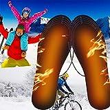 PINPOXE Fußwärmer, Sohlenwärmer, Wärmesohle,Schuhheizung, Beheizbare Thermosohle, Beheizbare Einlegesohlen Thermosohlen, 3 Warmstufen, Größe: 40-44 zuschneidbar, waschbar - 8