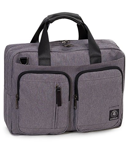 Invicta Messenger Backpack 15.6'' Rucksack, 42 cm, Grau (841)