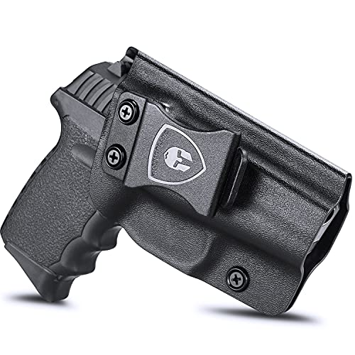 SCCY 9mm CPX1 CPX2 Holster, IWB KYDEX Holster Custom Fit:...