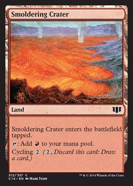 Magic The Gathering - Smoldering Crater (312/337) - Commander 2014