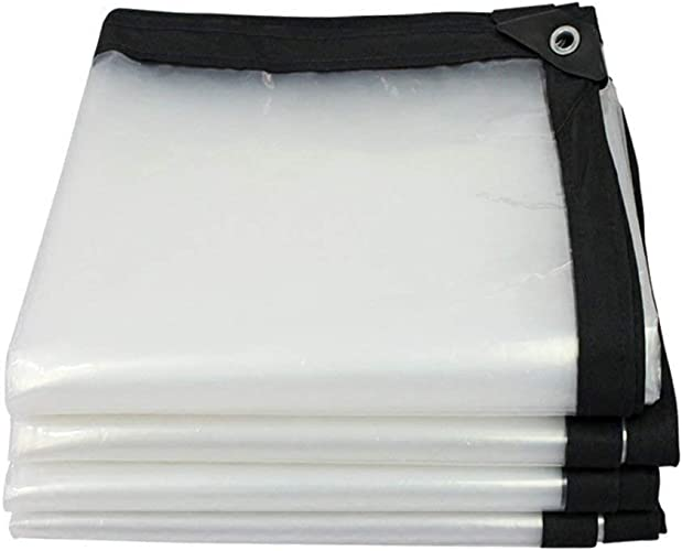 DJSMpb Baches Tissu Anti-Pluie de Plante Transparente Tissu en Plastique Anti-poussière de bache en Plastique imperméable de décoration (Taille   3x6m)