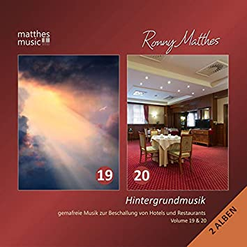 Hintergrundmusik, Vol. 19 & 20 - Gemafreie Musik zur Beschallung von Hotels & Restaurants (Inkl. Klaviermusik & Christliche Lieder) [Incl. Royalty Free Christian Songs]
