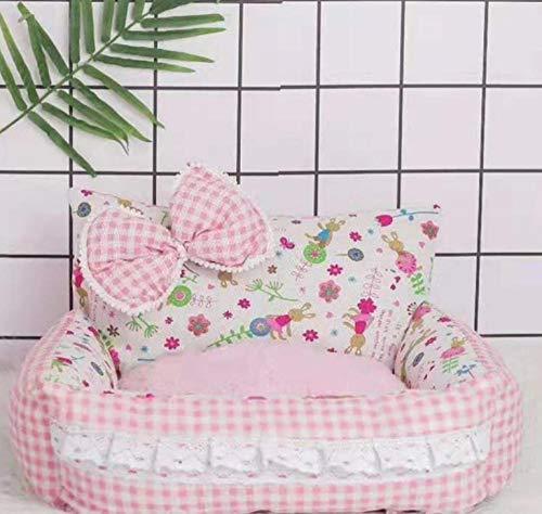 Pet Nest Kennelsuper Comfortabele Princess Hondenmand Sofa High-End Pet Kennel Kussen Puppy Cat Litter Bench Puppy Bed
