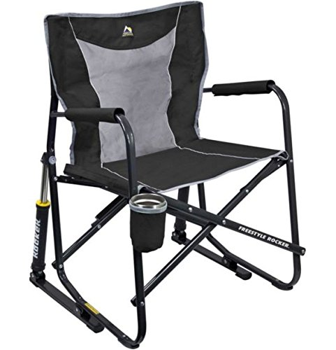 GCI Outdoor Freestyle Rocker Mesh Chair (Black)