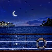 写真バックドロップ–Night Cruise–10x 10ft。–高品質シームレスなファブリック