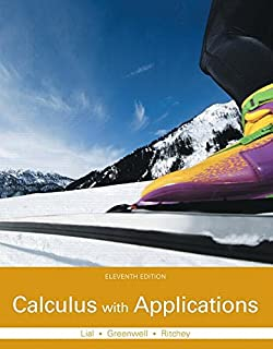 Calculus with Applications Plus MyLab Math with Pearson eText -- Access Card Package (11th Edition) (Lial, Greenwell & Ritchey, The Applied Calculus & Finite Math Series)