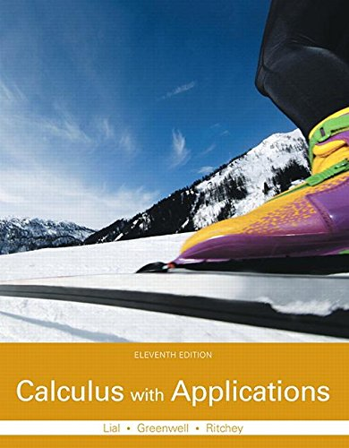 Compare Textbook Prices for Calculus with Applications Plus MyLab Math with Pearson eText -- Access Card Package  Lial, Greenwell & Ritchey, The Applied Calculus & Finite Math Series 11 Edition ISBN 9780133886832 by Lial, Margaret L.,Greenwell, Raymond N.,Ritchey, Nathan P.