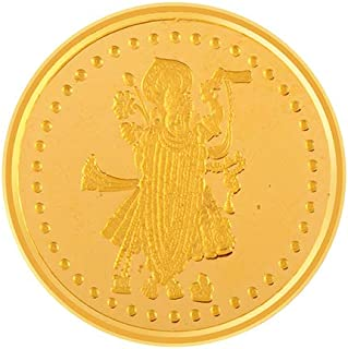 P.C. Chandra Jewellers 22k (916) 5 gm Yellow Gold Coin