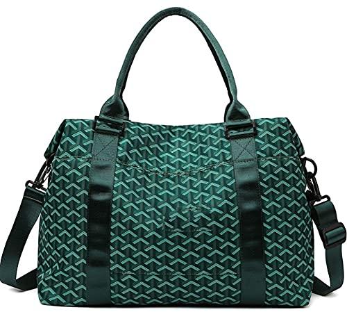 Moda multiuso Yoga Bag Storage Viaggio Duffel Bag Gym Bag Grande Capacità Dry E Wet Separazione Sport Training Bag Breve Distanza verde