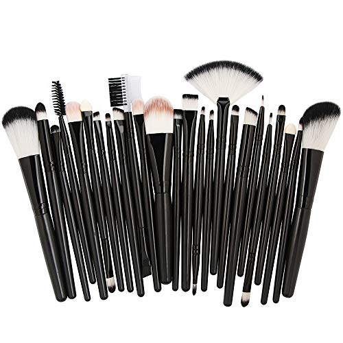 DXIA Make Up Pinsel Set 25 Stücke, Professionelle Pinselsets makeup, Premium Schminkpinsel Set,...