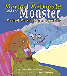 The Marisol McDonald books by Monica Brown are wonderful Spanish gifts for kids or a for a classroom.