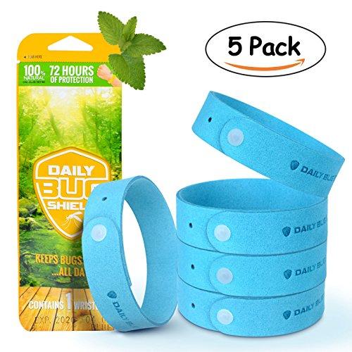 Bracelet Anti Moustique R/églable Anti-Insecte de Silicone et Bangle de Cheville pour Les Enfants B/éb/é Adultes 3 Packs Wristband 100/% Naturel /à Base de Plantes Anti-Moustique