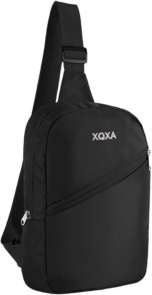 Small Sling Bag Crossbody Chest Bag Lightweight Daypack for Travel Hiking