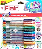 Xtra Sparkle Glitter Gel 10 Farben Xtra Sparkle Gel Pen von Flair