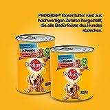 Pedigree Adult Hundefutter 3 Sorten Geflügel, 12 Dosen (12 x 400 g) - 9