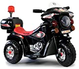 Toyas Kinder Motorrad Elektrofahrzeug Polizei Bike Kindermotorrad Elektromotorrad