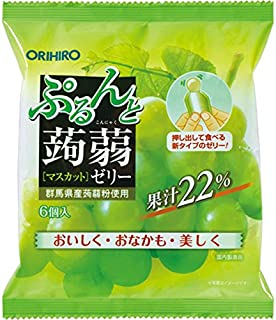 Orihiro Purun To Konnyaku Jelly Muscat, 120 g