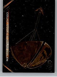 2018 Topps Star Wars Galactic Files Vehicles #V-6 Count Dooku's Solar Sailer