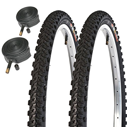 Raleigh CST T1812 26' x 1.95 Mountain Bike Tyres with Schrader Tubes (Pair)