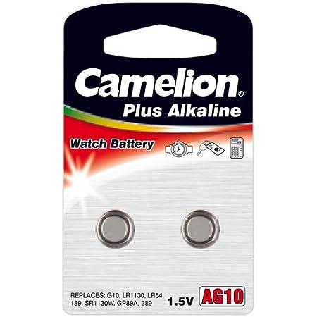 Camelion Alkaline Ag10 1 5 V Knopfzelle Elektronik