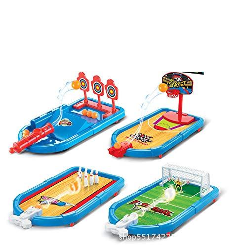 ReedG Juego de Mesa Mesa de Juego de Puertos, Mini Mesa de fútbol Juego Familia Divertida Juguete niños Regalo Juego de diversión Familiar (Color : Multi-Colored, Size : One Size)