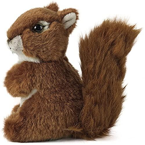 QWEDFG 14cm Lindos Juguetes de Peluche de Ardilla Lindos muñecos de Peluche de Animales para niños y niñas Regalos