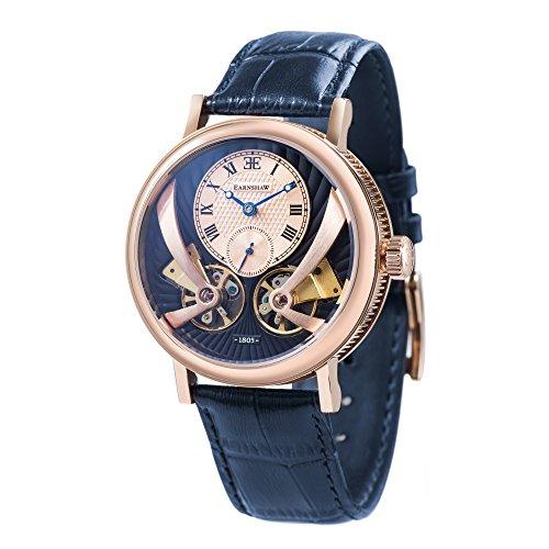 Thomas Earnshaw ES-8059-05, reloj automático Beaufort Anatolia, azul