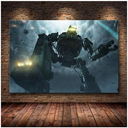 W15Y8 Call Of Duty Online Canvas Painting Game Art Posters Decoración Para Sala De Estar Pintura Impresa En Lienzo-50X75Cm Sin Marco