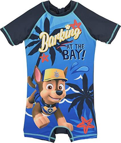 PAW Patrol badpak met UV-bescherming 50+ voor kinderen 3 4 5 6 jaar 98 104 110 116 blauw