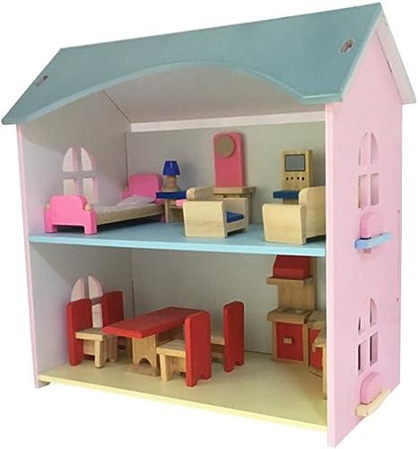 LINAG Kinder Modelle Stichs  Manuelle Montage T chen Sie Vor Spielen Haus H er Holz Spielzeug Geburtstagsgeschenk DIY Minipuppen Modepuppen Puzzle Zubeh