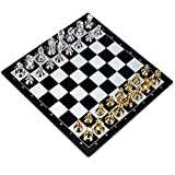 * Folding Board: The chess box is the chess board, the folding is the storage box, and the multi-purpose is used to save your space. *After sales guarantee: We guarantee the safe delivery of all items to our customers. You can email us at any time an...