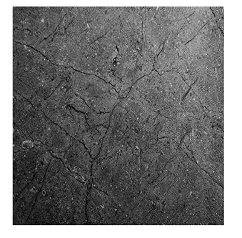 EZ FAUX DECOR Marble Self Adhesive Granite Gray Matte Soapstone Roll Kitchen Countertop Cabinet Furniture Instant Update. Easy to Remove Thick Waterproof PVC Vinyl Laminate Film.