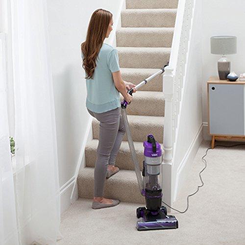 Vax UCA1GEV1 Mach Air Upright Vacuum Cleaner, 1.5 Liters, Purple