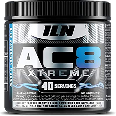 Iron Labs Nutrition, AC8 Xtreme Pre-Workout Supplement from Iron Labs Nutrition