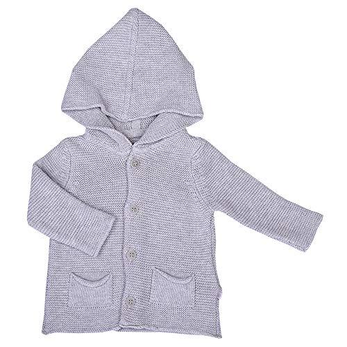 Sevira Kids - Cardigan bébé en tricot de coton bio