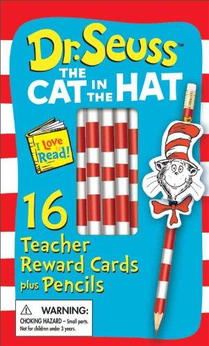 Eureka EU-610101 Cat in the Hat Pencil Toppers