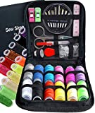 ARTIKA Mini Sewing KIT, Premium Sewing Supplies, Large Sewing Threads, Travel, Kids, Beginners and Home (Basic...