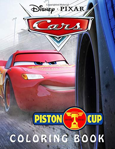 Cars Coloring Book: Piston Cup