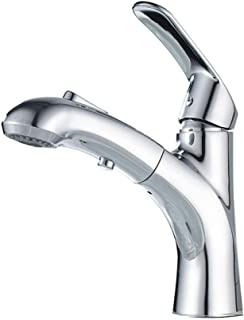 ZJN-JN Bathroom Sink Taps Basin Bathroom Cabinet Faucet Pulling The Sink Faucet Basin Pull-Out Faucet Bathroom Counter Bas...