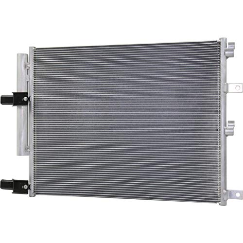 New A/C Condenser For 2013-2018 Ram Pickup 2500/3500 For 6.7l Diesel Engine, Without Trans Oil Cooler Includes Receiver Drier CH3030258 52014736AA