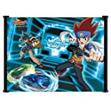 Laohujia Beyblade Metal Fusion Anime Fabric Wall Scroll